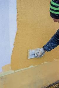 Wand Selber Verputzen : gartenmauer verputzen anleitung in 4 schritten ~ Lizthompson.info Haus und Dekorationen