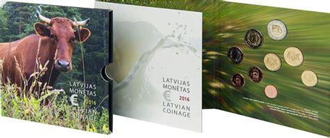 Latvijas Eiro monētu komplekts 2021 - Latvija de iure 100 (BU)
