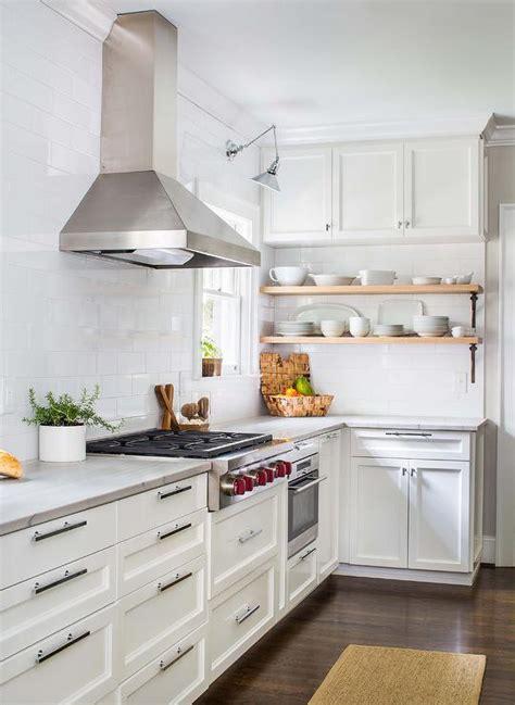 kitchen  full height subway tiled backsplash