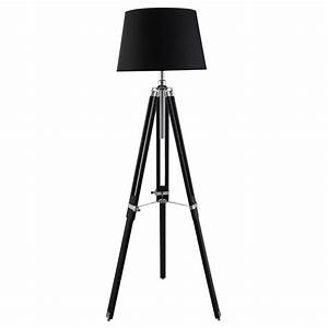 searchlight 1009cc tripod floor lamp black chrome 1 light With floor lamp tall chrome tripod lamp