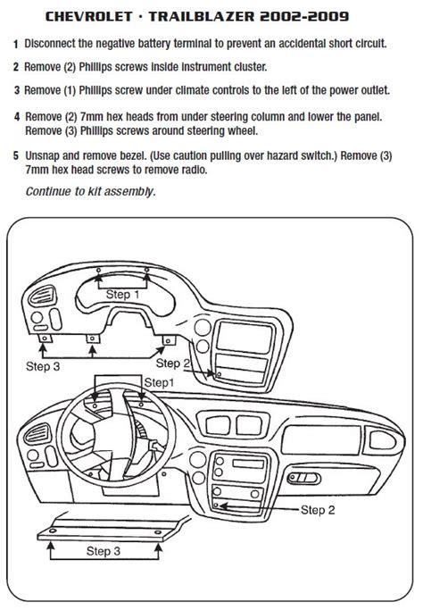 Chevy Trailblazer Radio Wiring Schematic