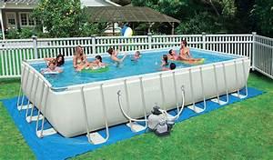 Nadzemní bazény s konstrukcí
