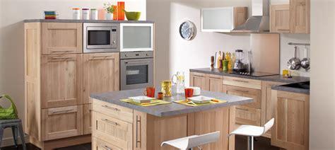 cuisine chene brut idea meubles de cuisine en ch 234 ne massif brut