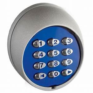Digicode sans fils 433 mhz pour porte de garage porte for Digicode porte de garage