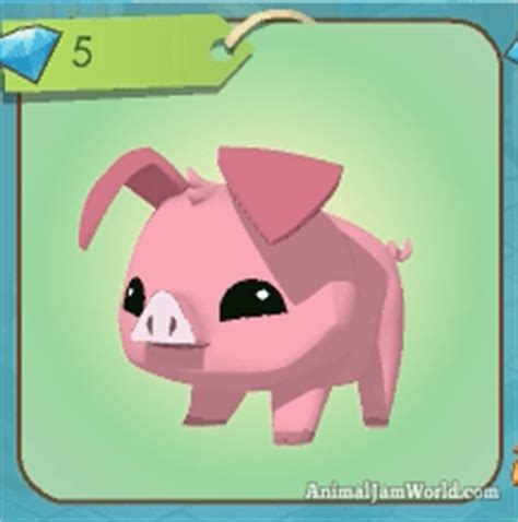 animal jam pig codes