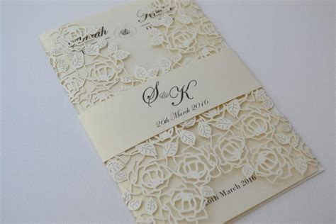laser cut wedding invitations laser cut wedding invitations ivory laser cut wedding