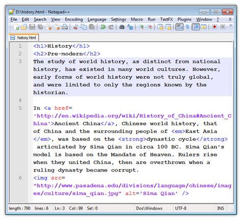 html document a modern html introductory tutorial fastwebstart