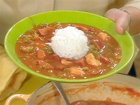 andouille sausage recipe one great gumbo with chicken and andouille sausage recipe rachael ray food network