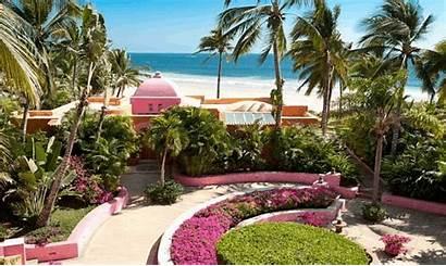 Las Alamandas Resort Tropical Manzanillo Vallarta Mexico