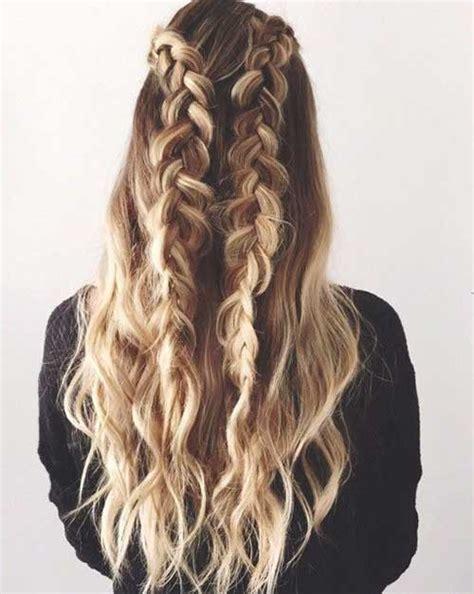 40 Best Braided Curly Hair   Long Hairstyles 2017 & Long