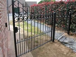 Portail De Jardin : l 39 art de la forge cr ation et restauration en fer forg ~ Melissatoandfro.com Idées de Décoration