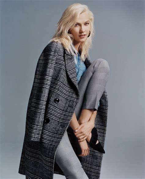 Karlie Kloss Express Fall Winter Campaign Fashion