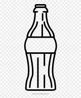 Soda Colorear Para Bottle Dibujo Refresco Coloring Clipart Transparent sketch template