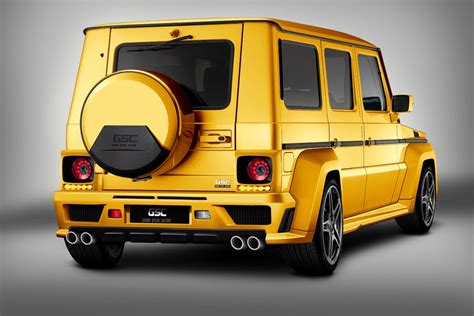 mercedes benz jeep gold mercedes benz clase g goldstorm by gsc mundoautomotor