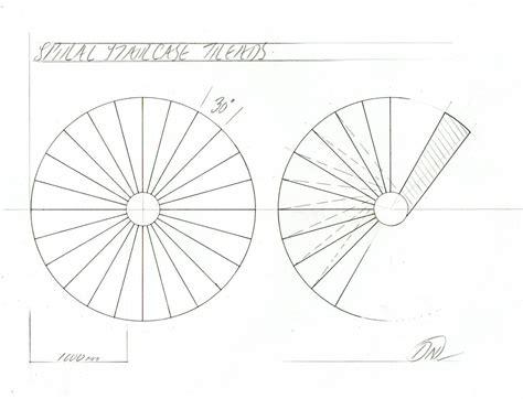 circular staircase plans making a model spiral staircase davidneat