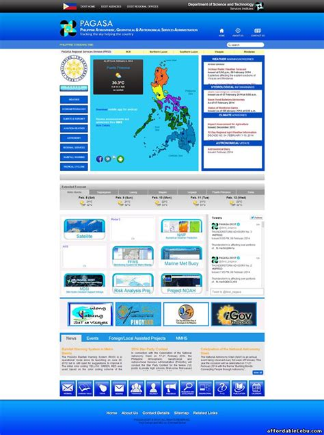 12 day pagasa weather forecast. New PAG-ASA Website: Like to visit? - web.pagasa.dost.gov ...