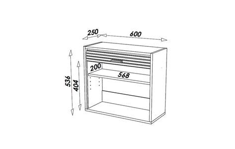 store meuble cuisine petit meuble de cuisine aluminium avec rideau déroulant 60 cm cooky decome store