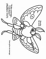 Moth Coloring Cave Quest Vbs Preschool Crafts Colouring Template Bible Caves Church Children Printable sketch template