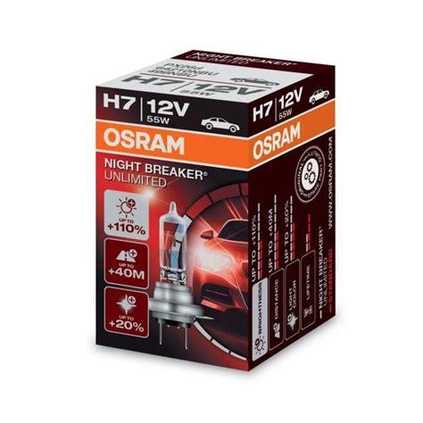osram breaker unlimited h7 osram breaker unlimited h7 single blister headlight bulbs powerbulbs