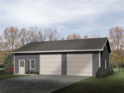 Two Car Garage With Workshop  2283sl  Cad Available, Pdf