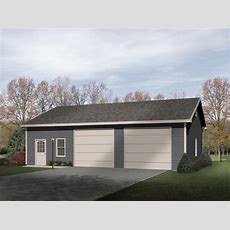 Two Car Garage With Workshop  2283sl Architectural