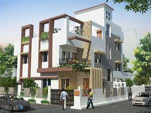 Front compound wall elevation design google