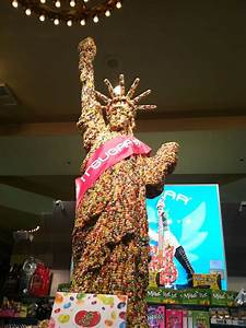 Statue Of Liberty Made Out Of Jelly Belly Candy Yelp