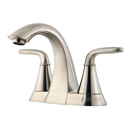Pfister Pasadena Faucet Manual by Brushed Nickel Pasadena Centerset Bath Faucet F 048 Pdkk