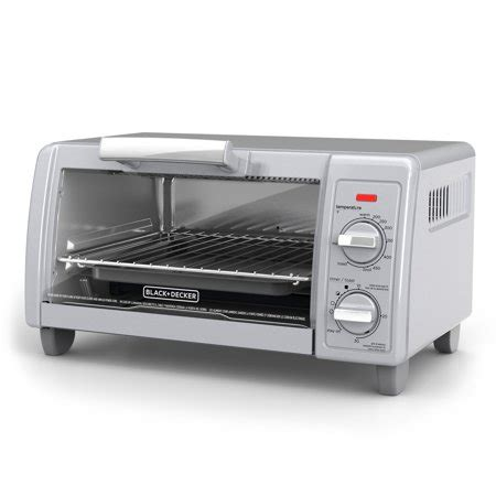 Simple Toaster Oven - black decker 4 slice toaster oven easy controls
