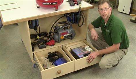 woodworkers journal outfeed table plans diy castle