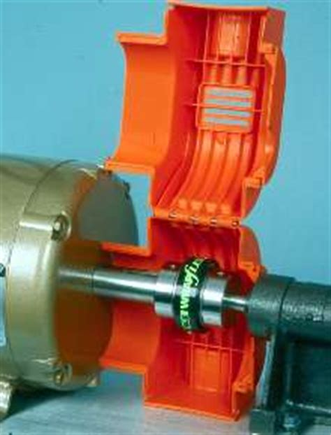 Electric Motor Safety by Coupling Guards Suit Electric Motor Gearmotor Connections