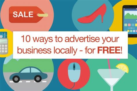ways  advertise  business locally
