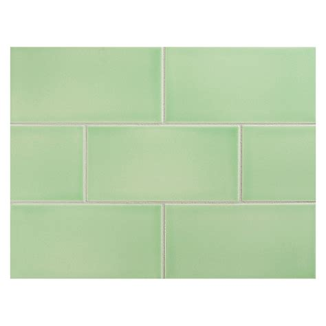 apple green kitchen tiles vermeere ceramic tile apple green gloss 3 quot x 6 quot subway 4162