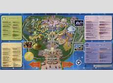 1999 Disneyland Hong Kong park map Flickr Photo Sharing!