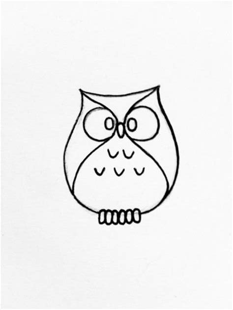 simple owl drawings simple owl drawing search sweety inspiration