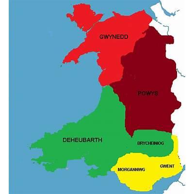 Powys (Second Heptarchy) - Alternative History
