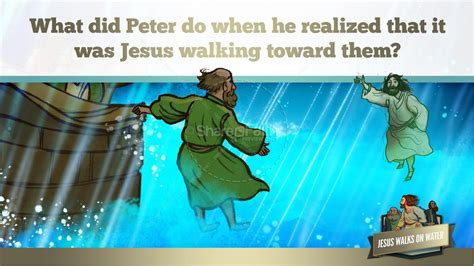 Jesus Walks On Water Story for Kids