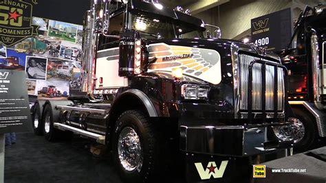 western star  logger truck walkaround