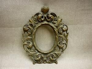 Miroir Ancien Le Bon Coin : petit cadre ovale en bronze ancien ~ Teatrodelosmanantiales.com Idées de Décoration