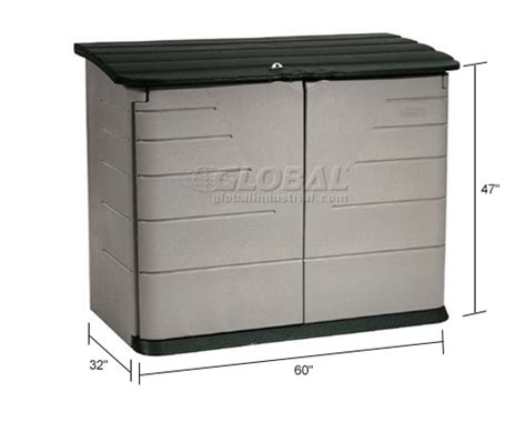 Rubbermaid Horizontal Storage Shed by Buildings Storage Sheds Sheds Plastic Rubbermaid
