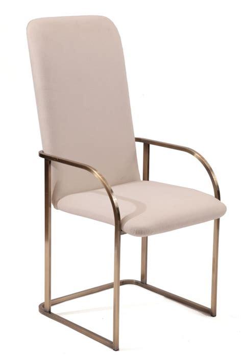 8 design institute of america bronze dining chairs