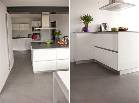 sol stratifié pour cuisine sol tendance pour cuisine flexibul décoration