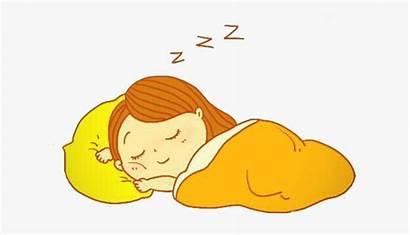 Clipart Sleep Well Bedtime Transparent Sleeping Child