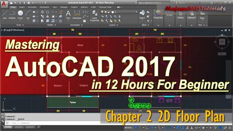 How To Make Floor Plan Autocad 2017