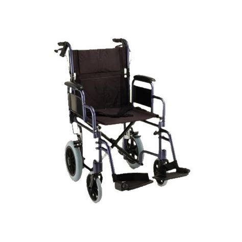 19 inches lightweight transport chair with