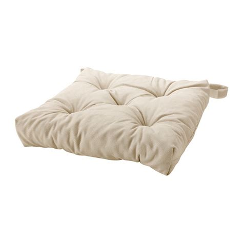 Ikea Coussin Chaise by Malinda Chair Cushion Light Beige Ikea