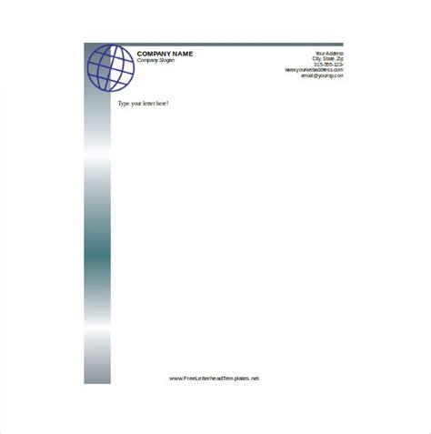 business letter format letterhead sle 28 images free