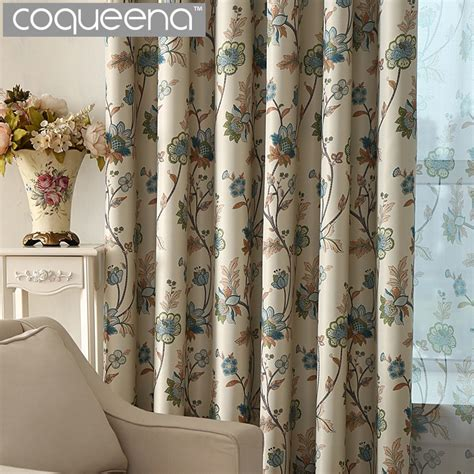 vintage curtains and drapes ready made custom vintage floral blackout curtains for