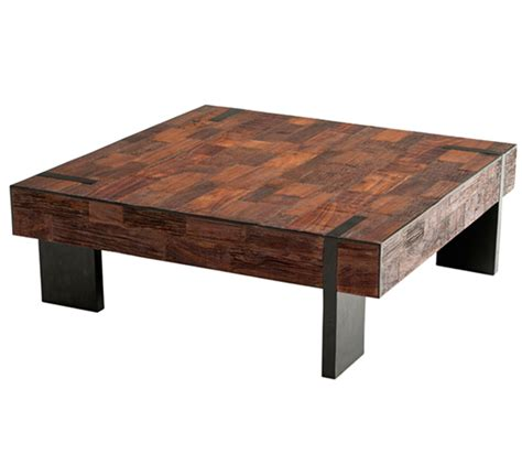 how to make a coffee table higher reclaimed wood furniture salvaged distressed old wood