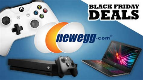 newegg black friday deals on ps4 xbox one pc hardware